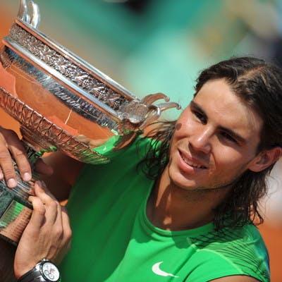 Rafael Nadal Roland-Garros 2008 champion French Open.
