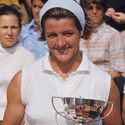 Margaret Court Roland-Garros 1969.