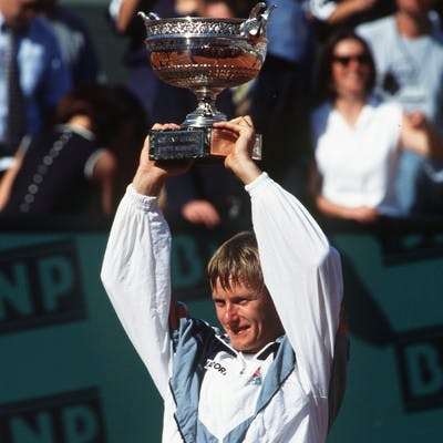 Evgueni Kafelnikov Roland-Garros 1996 champion French Open.