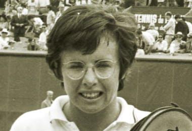 Billie Jean King Roland-Garros champ 1972 French Open.