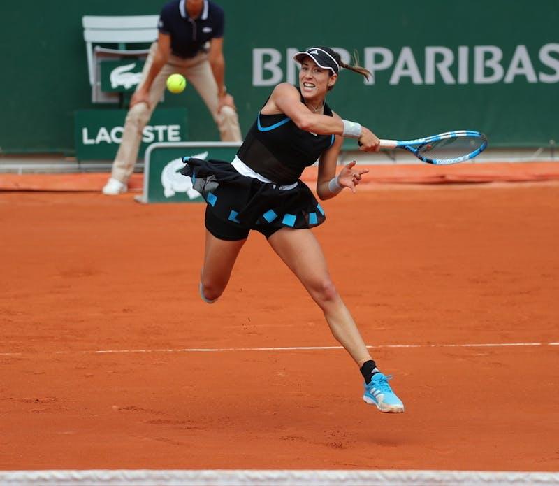 Garbine Muguruza, Roland Garros 2019, third round