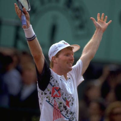Jim Courier Roland-Garros 1991 French Open.
