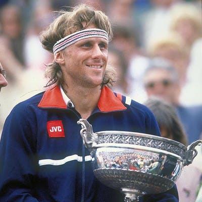 Björn Borg Roland-Garros 1981.