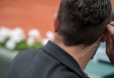 Agent de sécurité à Roland-Garros