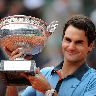 Roger Federer champion Roland-Garros 2009 French Open champ.