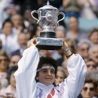 Arantxa Sanchez championne Roland-Garros 1989.