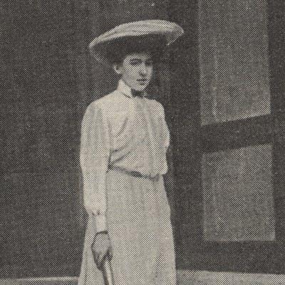 Kate Gillou Fenwick Roland-Garros 1904, 1905, 1906 et 1908.