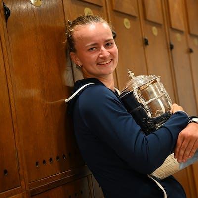 Barbora Krejcikova, Roland Garros 2021, final