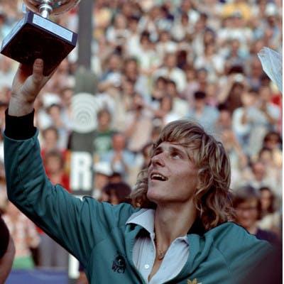 Björn Borg Roland-Garros 1974.