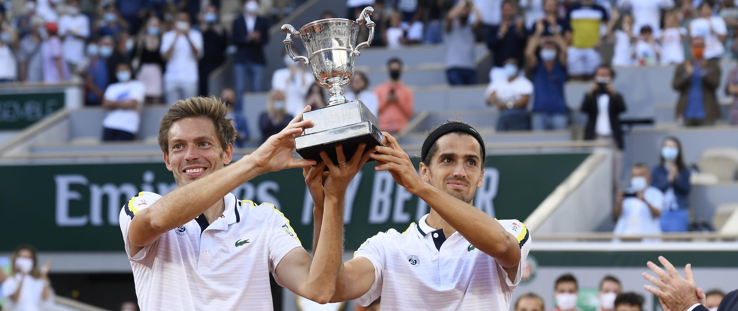 Pierre-Hugues Herbert, Nicolas Mahut, Roland Garros 2021, doubles final