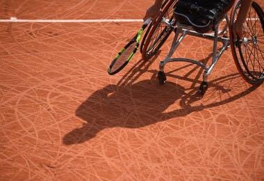 Illustration tournoi tennis-fauteuil Roland-Garros 2019