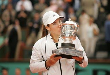 Justine Henin championne Roland-Garros 2005 French Open champ.