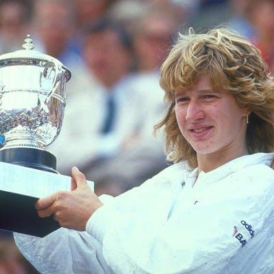 Steffi Graf Roland-Garros 1987.