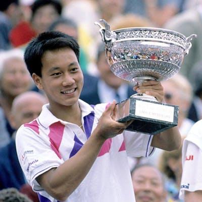 Michael Chang Stefan Edberg Roland-Garros 1989.