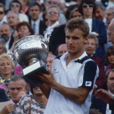 Mats Wilander champion Roland-Garros 1985 contre Ivan Lendl.