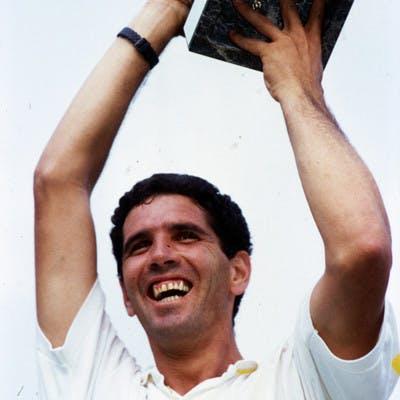 Andres Gomez champion Roland-Garros 1990.