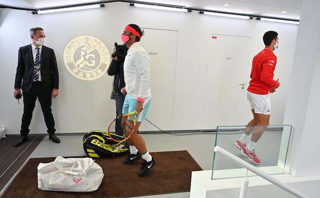 Rafael Nadal, Novak Djokovic, Roland-Garros 2020, finale