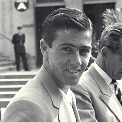 Ken Rosewall et Henri Cochet, Roland-Garros 1953 / Ken Rosewall and Musketeer Henri Cochet French Open 1953