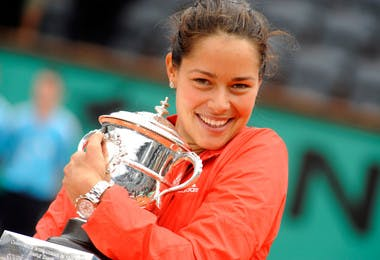 Ana Ivanovic Roland-Garros 2008 champ French Open.