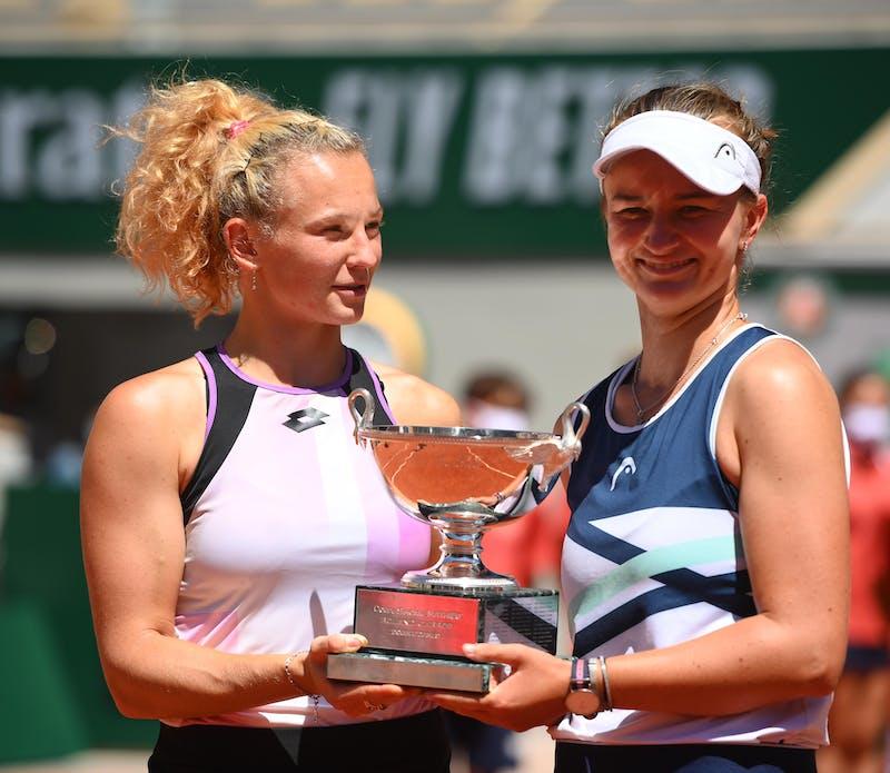 Katerina Siniakova Barbora Krejcikova Roland-Garros 2021