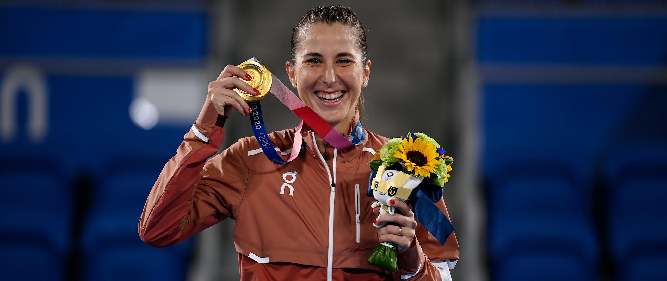 Belinda Bencic / Gold medal Tokyo 2020