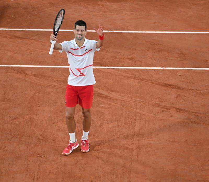 Novak Djokovic, Roland Garros 2020 first round