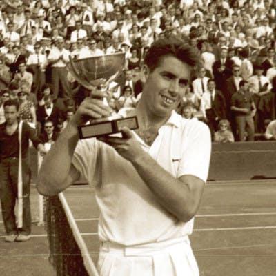 Manolo Santana Roland-Garros 1964.