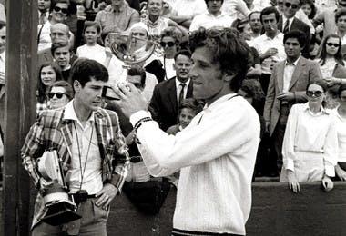 Jan Kodes - Roland-Garros 1970
