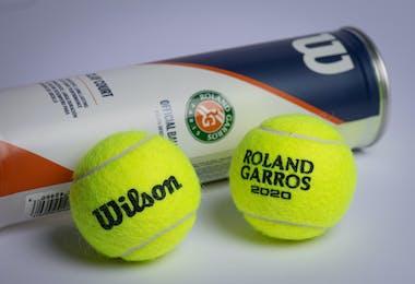 New balls Wilson Roland-Garros 2020