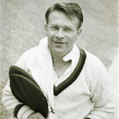 Jaroslav Drobny Roland-Garros champion 1951-1952.
