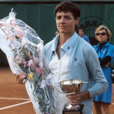 Margaret Court Roland-Garros 1973.