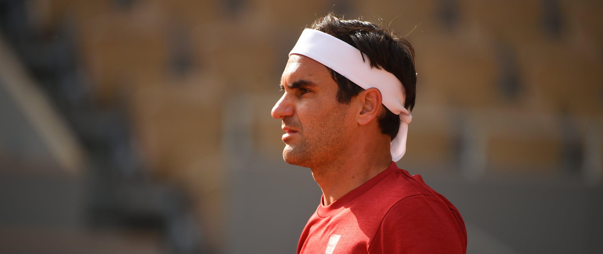 Roger Federer / Roland-Garros 2021