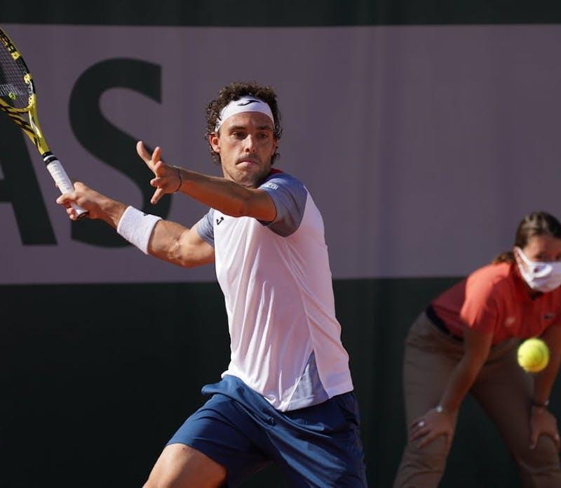Marco Cecchinato, Qualifications, Roland-Garros 2020