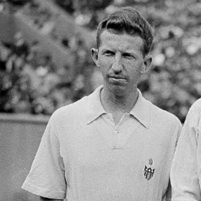 Donald Budge Roderich Menzel Roland-Garros French Open 1938.