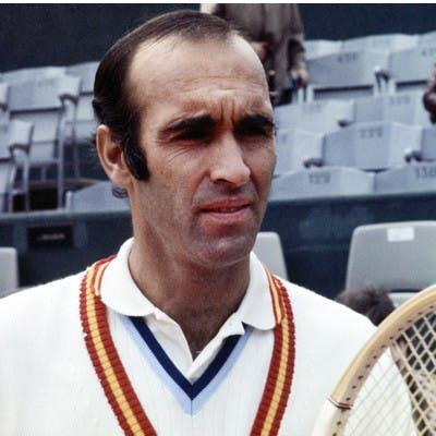Andres Gimeno Roland-Garros 1972.