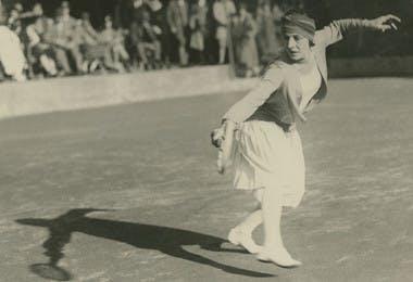 Suzanne Lenglen focus
