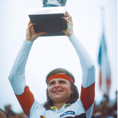 Hana Mandlikova Roland-Garros 1981.