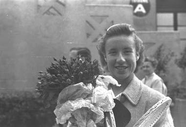 Maureen Connolly Roland-Garros French Open 1953 champ.