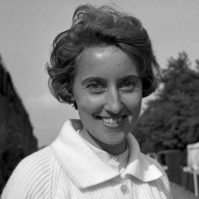 Angela Mortimer championne Roland-Garros 1955 champ.