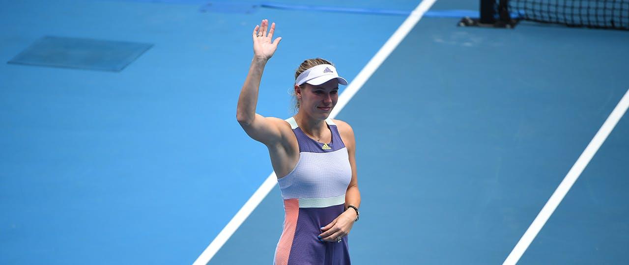 Caroline Wozniacki Australian Open 2020