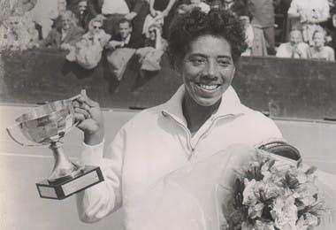 Althea Gibson Roland-Garros 1956