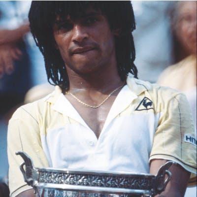 Yannick Noah Roland-Garros 1983.