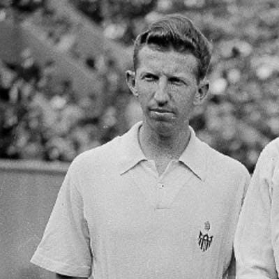 Donald Budge Roderich Menzel Roland-Garros French Open 1938.