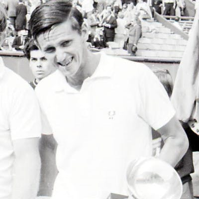 Roy Emerson Tony Roche finale Roland-Garros 1967.