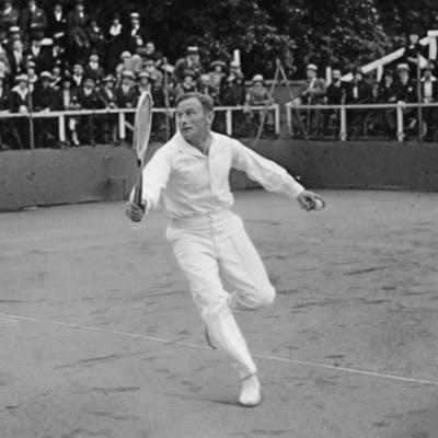 Jean Samazeuilh champion Roland-Garros 1921.