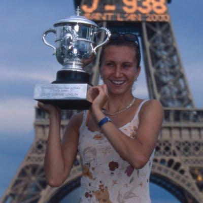 Iva Majoli championne Roland-Garros 1997 French Open champ.