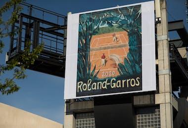 Affiche 2020 Roland-Garros
