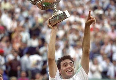 Sergi Bruguera Roland-Garros 1993 champion.