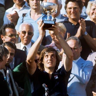 Adriano Panatta Roland-Garros 1976.