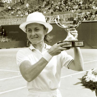Nancy Richey championne Roland-Garros 1968 French Open champ.